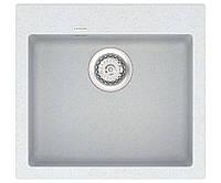 Кухонная мойка из кварцевого камня квадратная Vankor Orman OMP 01.49 Sahara сахара