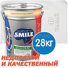 "Грунтовка антикорозионная ""SMILE Смайл ГФ-021"" Белая - 0,9кг, фото 3"