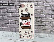 Силиконовый чехол для Apple Iphone 5_5s (Нутелла), фото 3