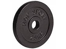 Гантеля металлическая Hop-Sport Strong 1 х 10 кг, фото 2