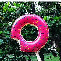 Надувний круг Modarina Пончик 90 см Рожевий (PF3330)