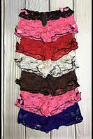 Женские трусики шортики комплект 6 штук разные цвета Т-966