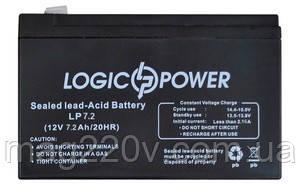 Аккумуляторная батарея AGM LogicPower LPM 12 - 7,2 AH