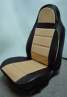Чехлы на сиденья ЗАЗ Таврия (ZAZ Tavria) (модельные, экокожа, пилот)