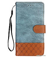 Чехол-книжка Diary c TPU креплением и функцией подставки для Xiaomi Redmi Note 4X / Note 4 (SD) Blue