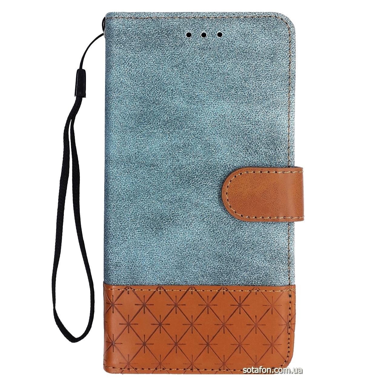 Чехол-книжка Diary c TPU креплением и функцией подставки для Samsung Galaxy J5 (2017) SM-J530F Blue