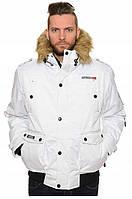 Зимняя куртка-парка GEOGRAPHICAL NORWAY 38* белая, L