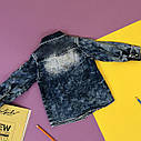 Джинсовая рубашка 2-3-4-5 лет, фото 2