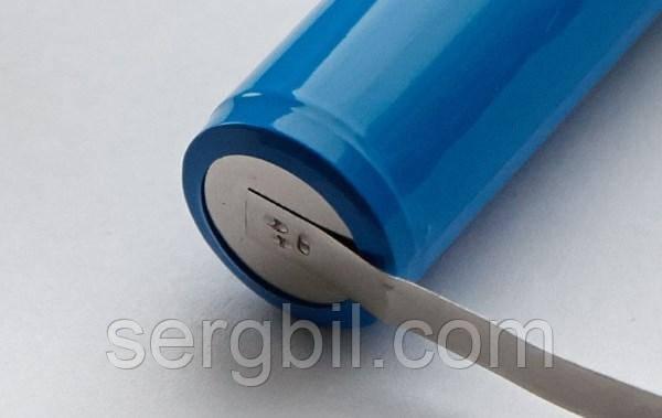 Стрічка сталева нікельована 0,12 х 8,0 мм для зварювання акумуляторів, 1м