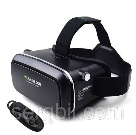 Шлем виртуальной реальности Vr shinecon, с пультом