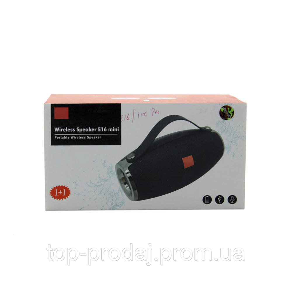 Музыкальная колонка SPS JBL E16 mini 4732 BT, Портативная колонка, Беспроводная колонка, Блютуз динамик