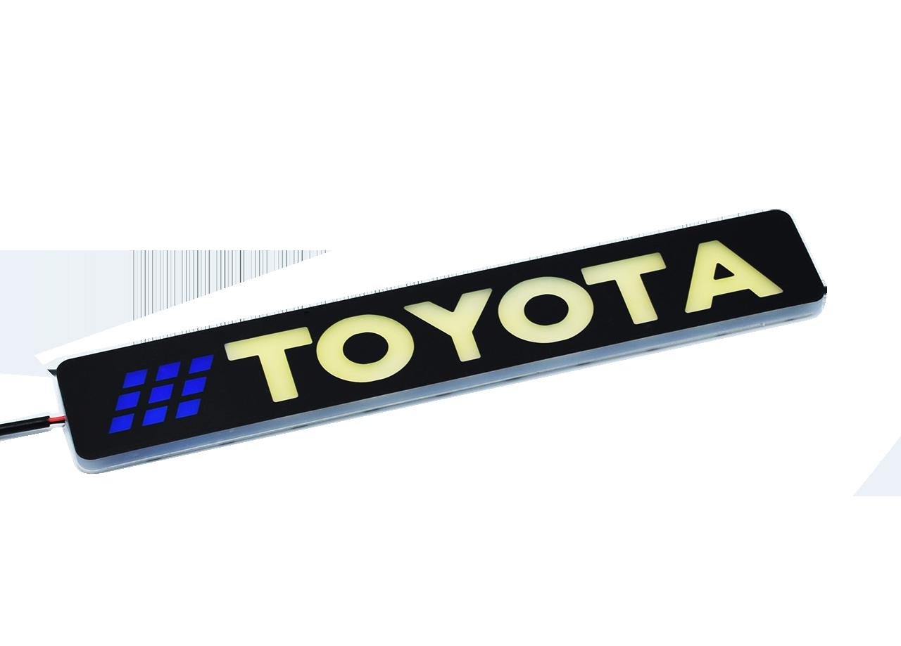Гибкие дневные ходовые огни LED DRL X2 Toyota