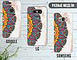 Силиконовый чехол для Apple Iphone 8 plus (Разноцветная мандала), фото 5