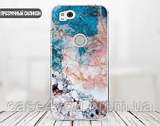 Силиконовый чехол для Apple Iphone 8 plus (Морской мрамор), фото 2