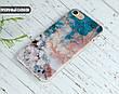 Силиконовый чехол для Apple Iphone 8 plus (Морской мрамор), фото 6