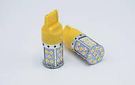 Светодиодные лампы в указатель поворота  W21W (7440/T20)/ 35LED CAN (Оранжевая)