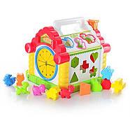Развивающая музыкальная игрушка-сортер Теремок Play Smart 9196, фото 2