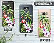 Силиконовый чехол для Apple Iphone 8 plus (Фламинго в цветах), фото 6