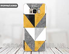 Силиконовый чехол для Apple Iphone XR (Желтый абстракт), фото 3