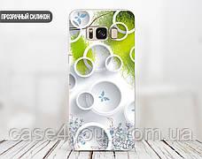 Силиконовый чехол для Apple Iphone XR (Белые круги), фото 3