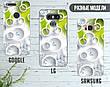 Силиконовый чехол для Apple Iphone XR (Белые круги), фото 4