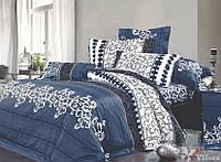 Полуторное постельное белье Вилюта 8630 синий