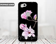 Силиконовый чехол для Apple Iphone XS (Райский цветок), фото 2