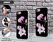 Силиконовый чехол для Apple Iphone XS (Райский цветок), фото 3