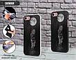 Силиконовый чехол для Apple Iphone XS Max (Космонавт на луне), фото 3