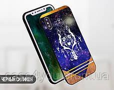 Силиконовый чехол для Apple Iphone XS Max (Талисман Волк), фото 2