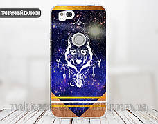 Силиконовый чехол для Apple Iphone XS Max (Талисман Волк), фото 3