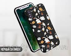 Силиконовый чехол для Apple Iphone XS Max (Neko cat), фото 2