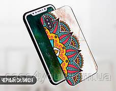 Силиконовый чехол для Apple Iphone XS Max (Разноцветная мандала), фото 2
