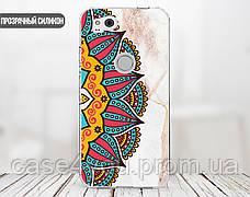 Силиконовый чехол для Apple Iphone XS Max (Разноцветная мандала), фото 3