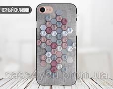 Силиконовый чехол для Apple Iphone XS Max (Гексагон), фото 2