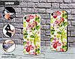 Силиконовый чехол для Apple Iphone XS Max (Восточные цветы), фото 3