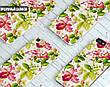 Силиконовый чехол для Apple Iphone XS Max (Восточные цветы), фото 4