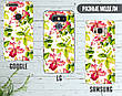 Силиконовый чехол для Apple Iphone XS Max (Восточные цветы), фото 5