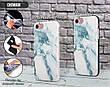 Силиконовый чехол для Apple Iphone XS Max (Снежный мрамор), фото 2