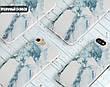 Силиконовый чехол для Apple Iphone XS Max (Снежный мрамор), фото 5