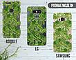 Силиконовый чехол для Apple Iphone XS Max (Банановые листья), фото 6