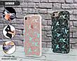 Силиконовый чехол для Apple Iphone XS Max (Небесный цветочный узор), фото 2