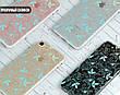 Силиконовый чехол для Apple Iphone XS Max (Небесный цветочный узор), фото 6