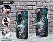 Силиконовый чехол для Apple Iphone XS Max (Галактика), фото 3