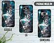 Силиконовый чехол для Apple Iphone XS Max (Галактика), фото 5