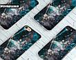 Силиконовый чехол для Apple Iphone XS Max (Галактика), фото 6
