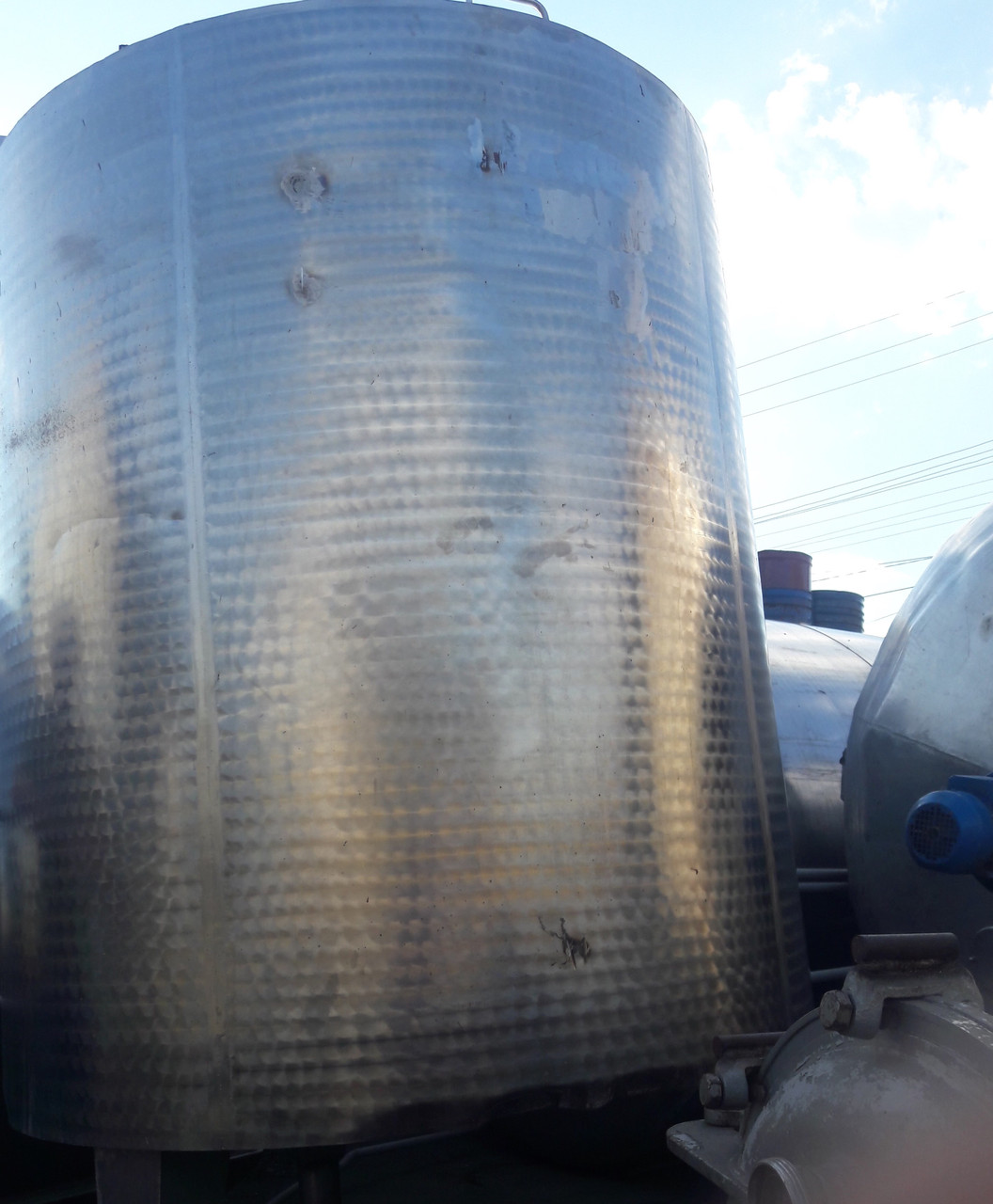 Молочный танк Я1осв 10 м куб