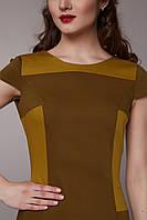 Платье  двухцветное комбининованное