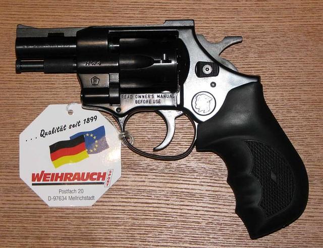 Револьвер под патрон флобера Arminius HW4 2.5''RM