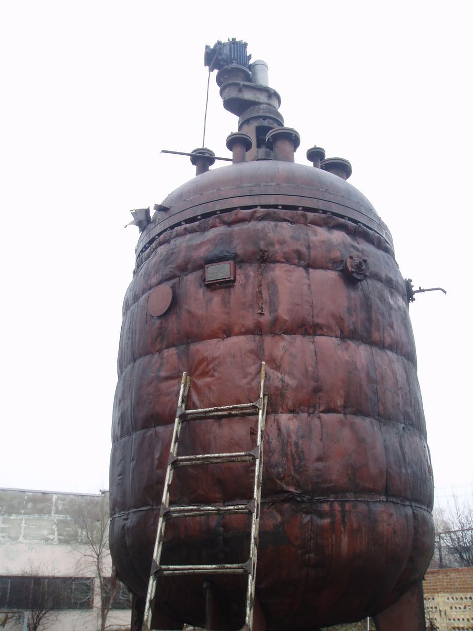 Реактор СЕРН нержавеющий 16 м куб